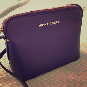 Handbags - Michael Kors Purple Crossbody